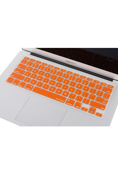 "Macstorey Apple Macbook Pro Retina Air Q Klavye Koruyucu Kapağı Silikonlu Kılıf US Amerikan İngilizce 13"" 15"" 17"" 330"