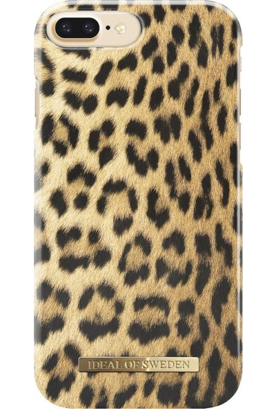 Ideal Of Sweden Apple iPhone 8 Plus Wild Leopard