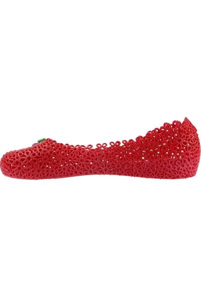 Almues 1401 Plaj Deniz Havuz Babet Bayan Deniz Ayakkabısı Kırmızı