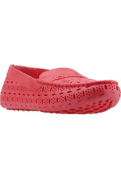 Almues 1804 Plaj Deniz Havuz Babet Bayan Deniz Ayakkabısı Kırmızı