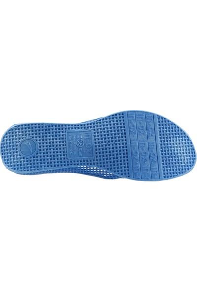 Almues 1306 Plaj Deniz Havuz Babet Bayan Deniz Ayakkabısı Mavi