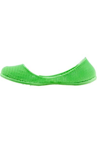 Almues 1306 Plaj Deniz Havuz Babet Bayan Deniz Ayakkabısı Yeşil