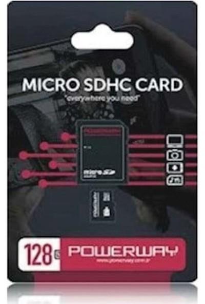 Powerway 128GB Micro SD Hafıza Kartı Class 10 PH-128G