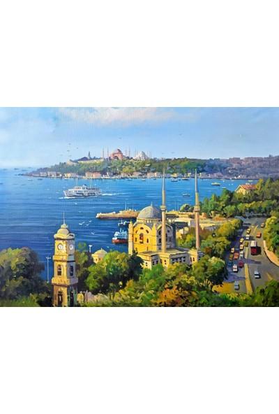 Tablosan Yağlıboya Dolmabahçe'den Istanbul Kanvas Tablo