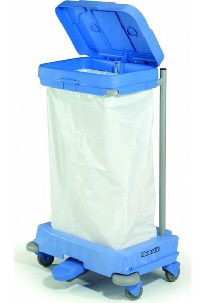 Numatic SAX120P Pedallı Çöp Kovası 120 lt
