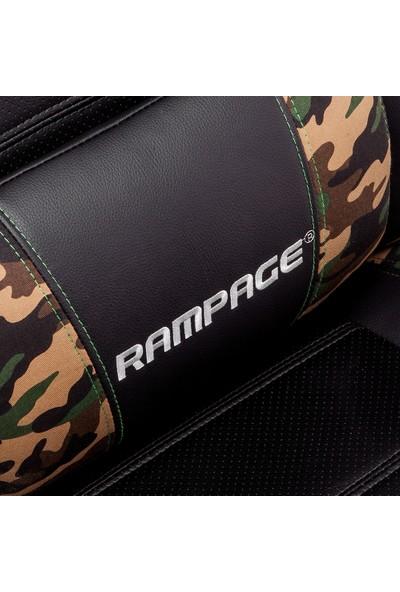 Rampage KL-R47 Oyuncu Koltuğu + Everest KM-R5 Ledli Multimedia Klavye Mouse