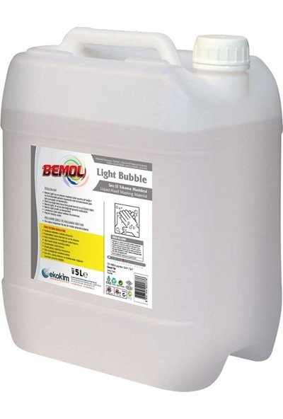 Bemol Light Bubble Hijyenik Köpük El Sabunu 5 kg