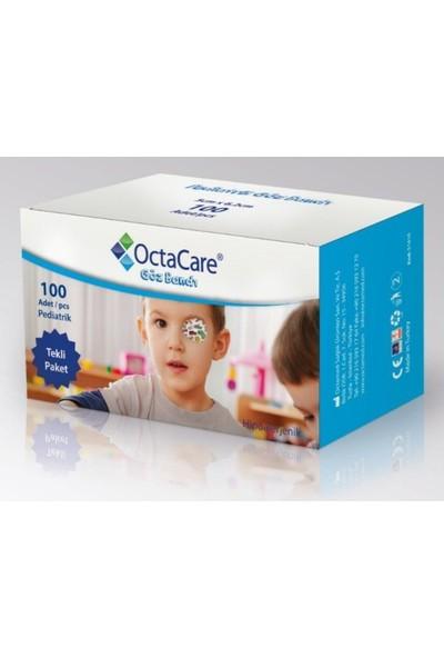 Octacare Erkek Çocuk Göz Kapama Bandı - 5cmx6,2cm -100 Lü Paket