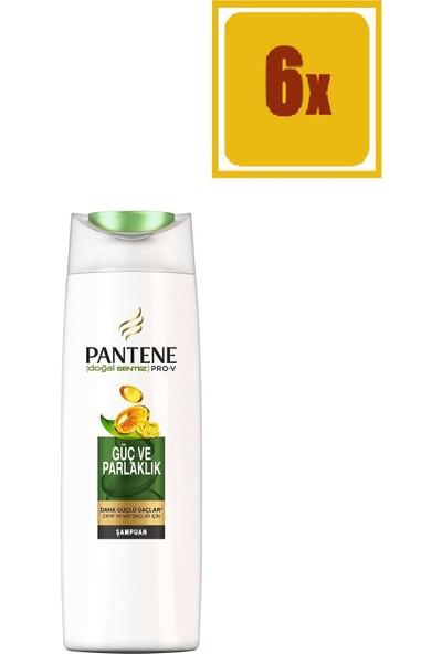 Pantene Şampuan Doğal Sentez Güç ve Parlaklık 500 ml 6'lı Set