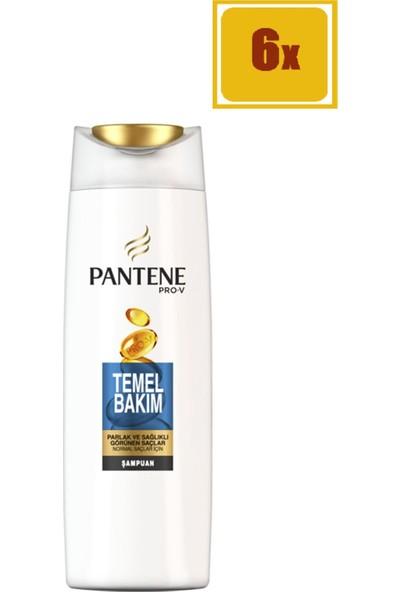 Pantene Şampuan Temel Bakım 500 ml 6'lı Set