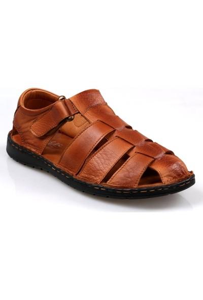 Catelli Erkek Ortapedik Masaj Tabanlı Hakiki Deri Yazlık Ayakkabı