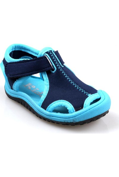 Papuç City Kids Erkek Çocuk (21-35) Aqua 3 Renk Sandalet Deniz Ayakkabısı