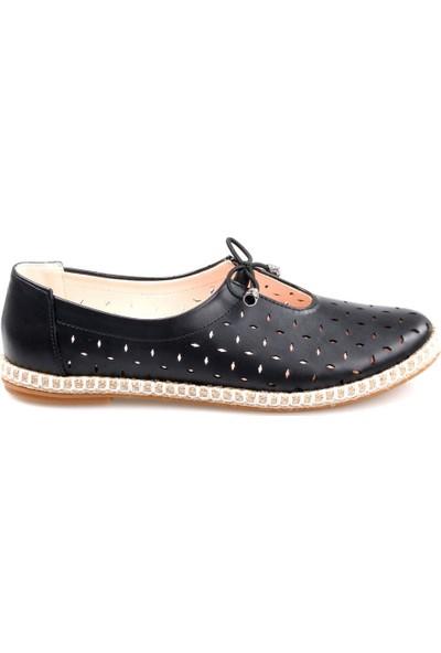 Nehir Kadın Siyah Günlük Ayakkabı