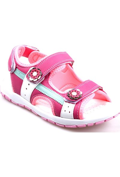 Sema Kız Çocuk (26-35) Ortapedik Pembe Sandalet