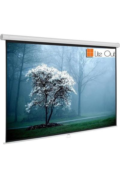 LiteOut LO150S 150x150cm Storlu Projeksiyon Perdesi