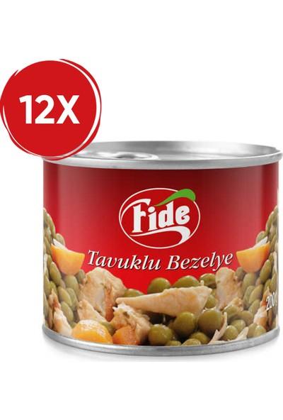 Fide Tavuklu Bezelye 200 gr / 12 Adet