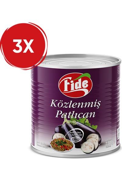 Fide Közlenmiş Patlıcan 3 kg / 3 Adet