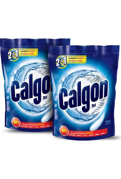 Calgon Çamaşır Makinesi Kireç Önleyici Toz 1500 gr x 2 Adet