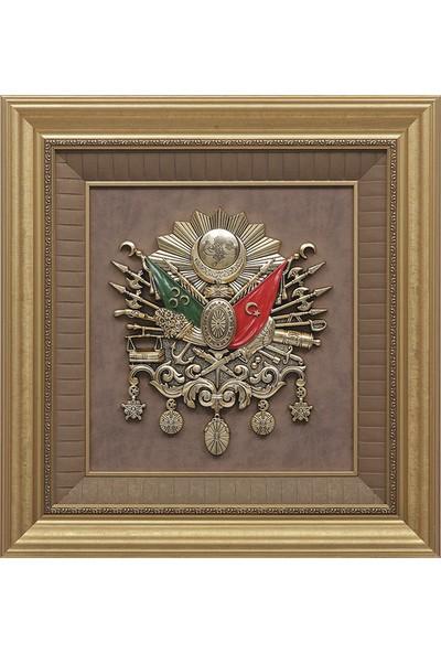 Minikhome Dekoratif Osmanlı Devlet Arması Tablo