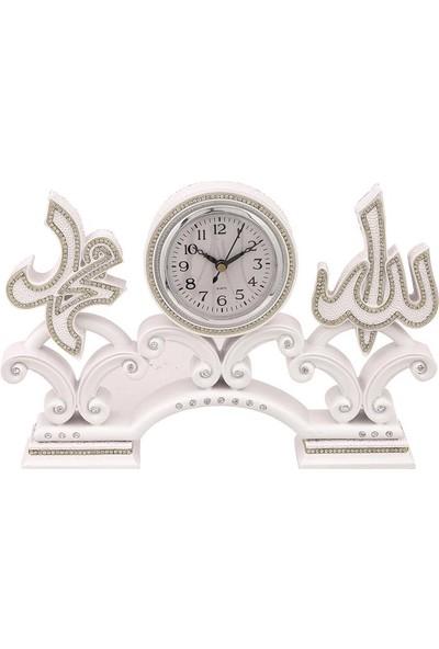 Minikhome Hediyelik Dekoratif Döküm Lü x 3'lü Islami Motif Saat