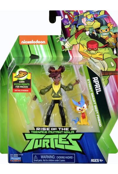 Nickelodeon Ninja Turtles Aksiyon Figür - Aprik O'neil