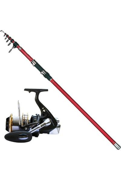 Dam Steelpower Red 450 cm 100-250 gr Remixon X-Pro Surf Olta Seti