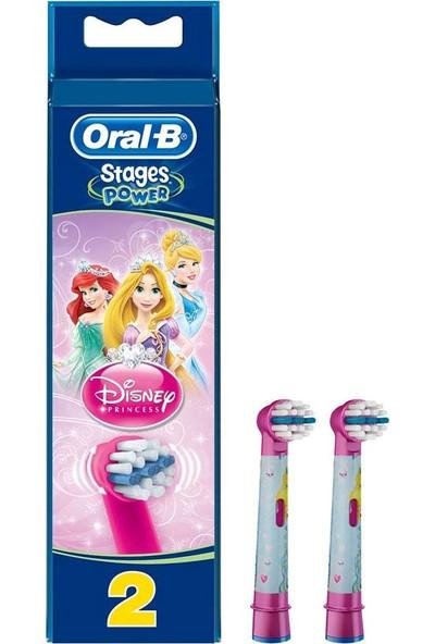Oral-B Disnep Princess - Çocuklar Için Diş Fırçası Yedek Başlığı 2 Adet