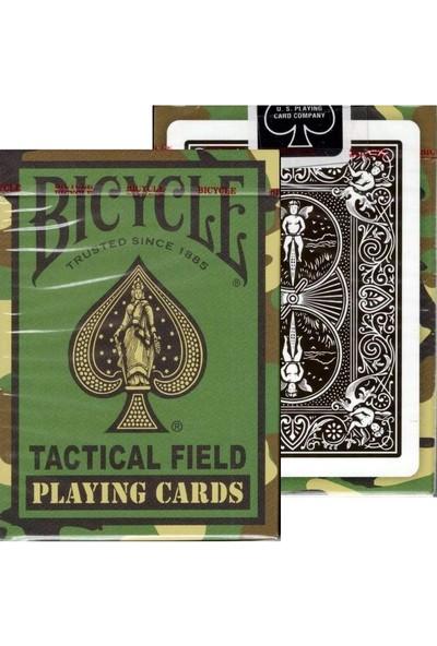 Bicycle Tactical Field V2 Camouflaged Oyun Kağıdı Kartları (Koleksiyonluk Bicycle Kartları Destesi)
