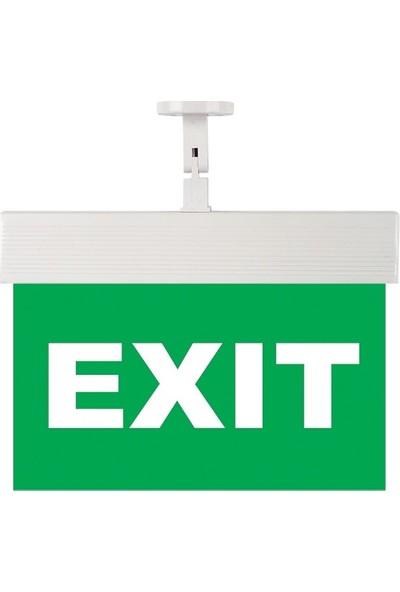 Mutlusan Cexa-8-01 Exit Acil Aydınlatma Armaturu
