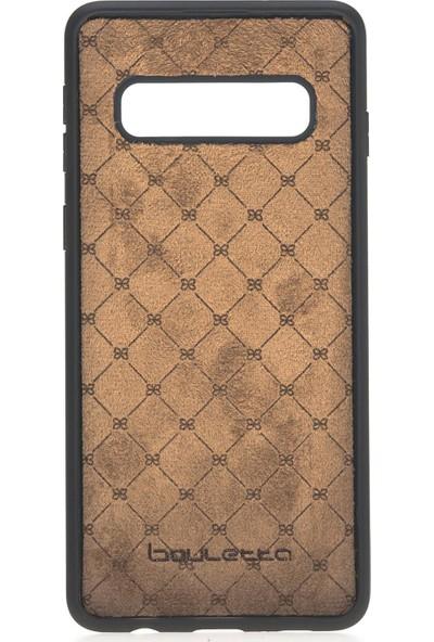 Bouletta Samsung Galaxy S10 Deri Kılıf + Arka Kapak