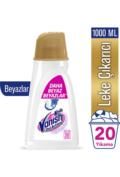 Vanish Kosla Oxi Action Gold Sıvı Gold Sıvı 1000 ml Beyazlar İçin