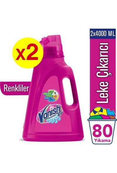 Vanish Kosla Sıvı Leke Çıkarıcı 2'li Set / 4000 x 2 Renkliler için