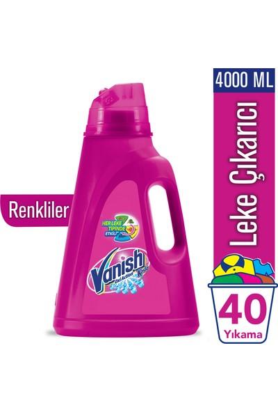 Vanish Kosla Oxi Action Sıvı Leke Çıkarıcı 4000 ml Renkliler İçin