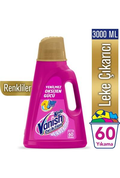 Vanish Kosla Oxi Action Gold Sıvı Leke Çıkarıcı 3000 ml Renkliler İçin