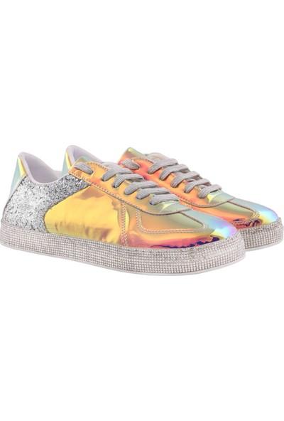 Vingi Taşlı Spor Kadın Ayakkabısı