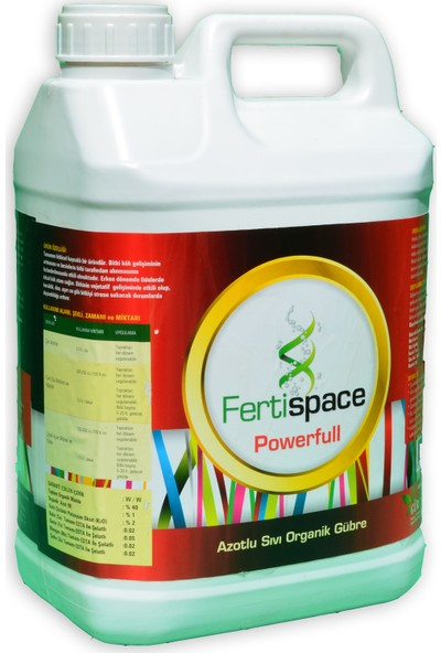 Fertispace Powerfull 5 Lt (Sıvı Azotlu Organik Gübre)