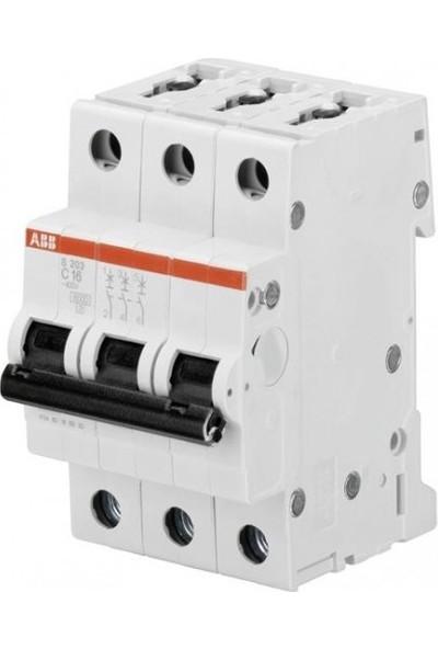 Abb 2Cds213001R0634 Sh203-C63 3X63A C Tipi 6Ka Otomat
