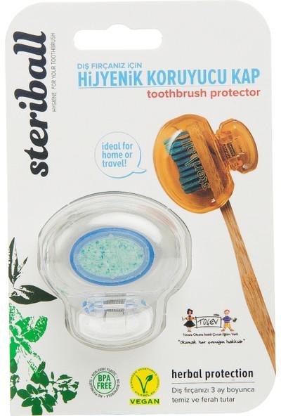 Steriball Diş Fırçası Koruma Kabı-Şeffaf