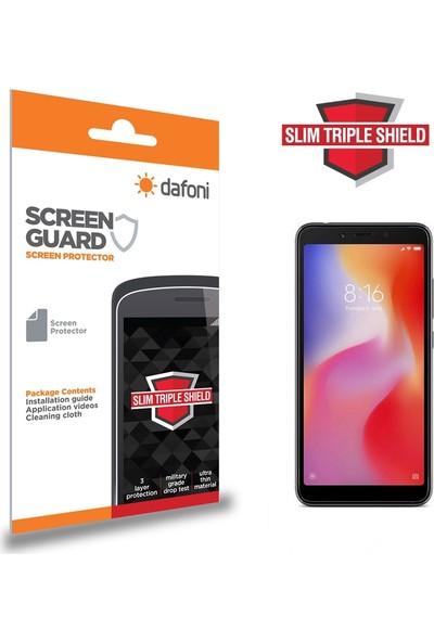Dafoni Xiaomi Redmi 6A Slim Triple Shield Ekran Koruyucu