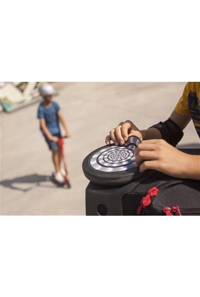 Nikidom Roller Çanta Için Tekerlek Stickeri / Etiketi Merchanıc Desen