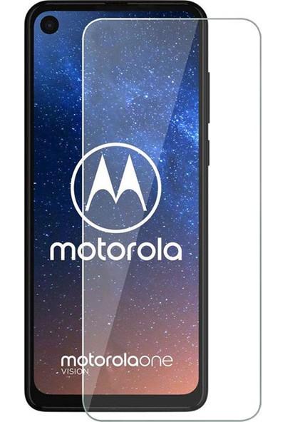 Microcase Motorola Moto One Vision Tempered Glass Cam Koruma