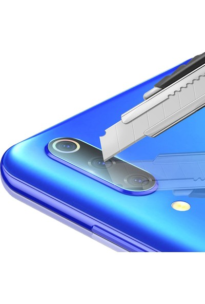 Microcase Xiaomi Mi 9 Explorer Kamera Camı Lens Koruyucu Tempered Glass