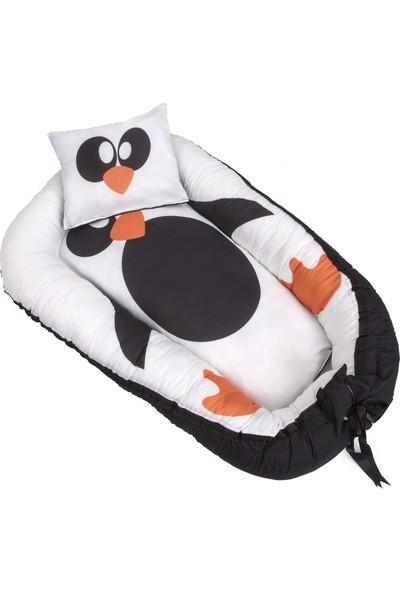 Hanbebe Anne Yanı Yatağı penguen