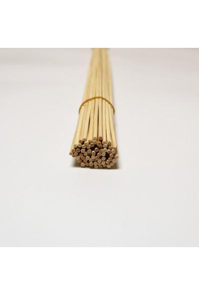 Rocopaper Doğal Bambu Çubuk 1 Paket 50 Adet 25 cm