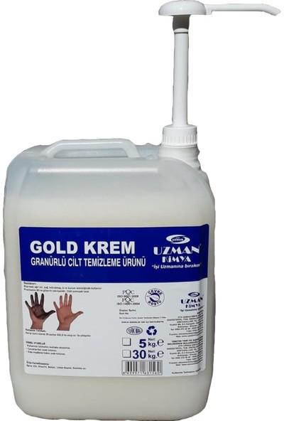 Uzman Kimya Gold Krem Granürlü Cilt Temizleme Ürünü 5 kg