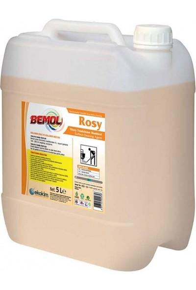 Bemol Rosy Yüksek Parfümlü Yüzey Temizleme Maddesi Sarı 5 kg