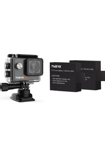 Thieye I60+ 4K Aksiyon Kamera + Extra Yedek Batarya