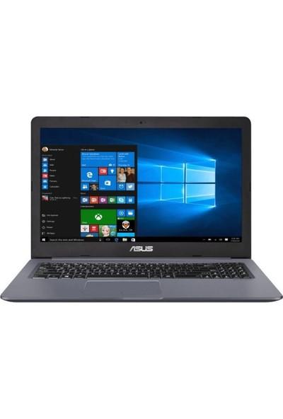 "Asus Vivobook N580GD-DM071T Intel Core i7 8750H 16GB 1TB + 128GB SSD GTX1050 Windows 10 Pro 15.6"" FHD Taşınabilir Bilgisayar"