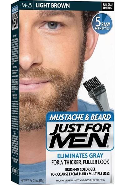 Just For Men Sakal ve Bıyık Boyası Açık Kahverengi M-25