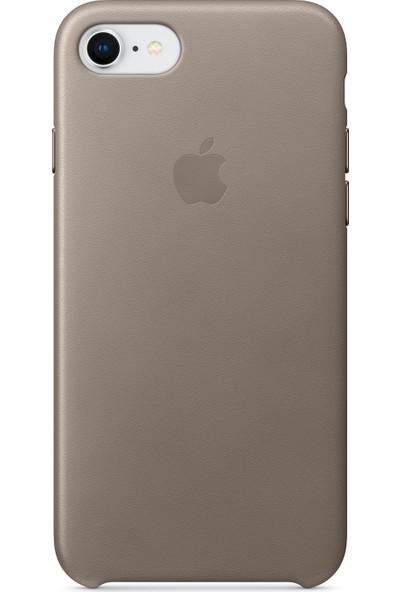 Daytona Apple iPhone 7/8 Deri Kılıf Vizon